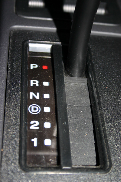 how to use manual shift on automatic