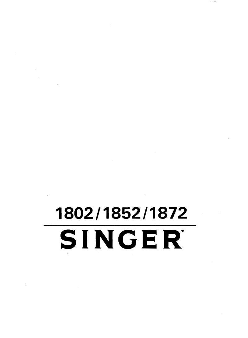 singer sewing machine manual free download