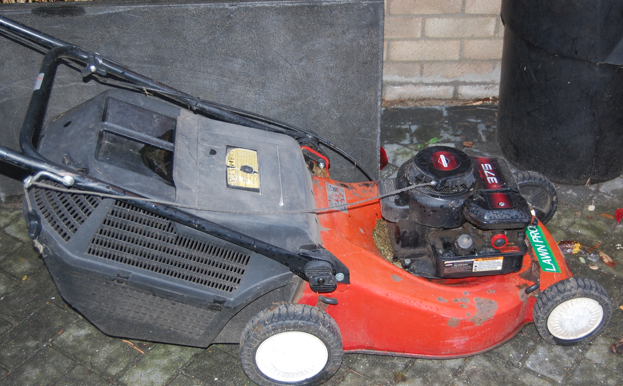 briggs and stratton 375 manual