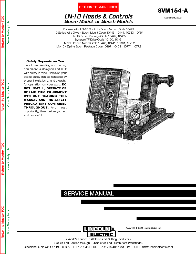 lincoln square wave 200 manual