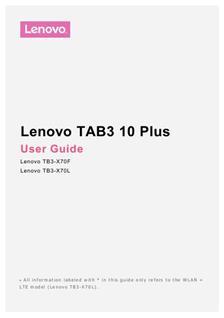 lenovo yoga tablet 10 instruction manual