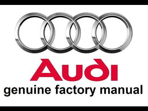 audi a3 workshop manual free download