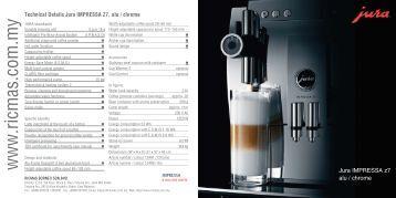jura impressa c9 service manual