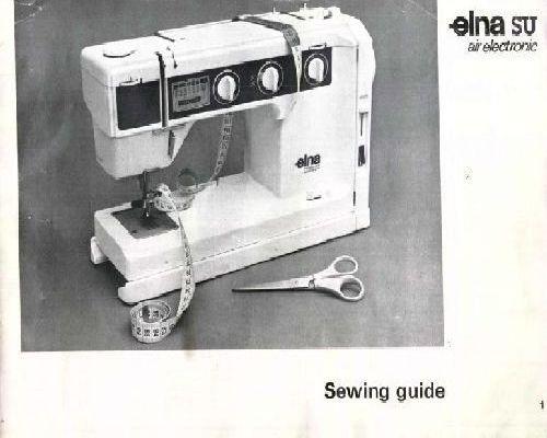 elna stella tsp air electronic sewing machine manual