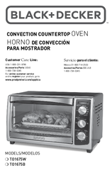 black and decker toast r oven manual