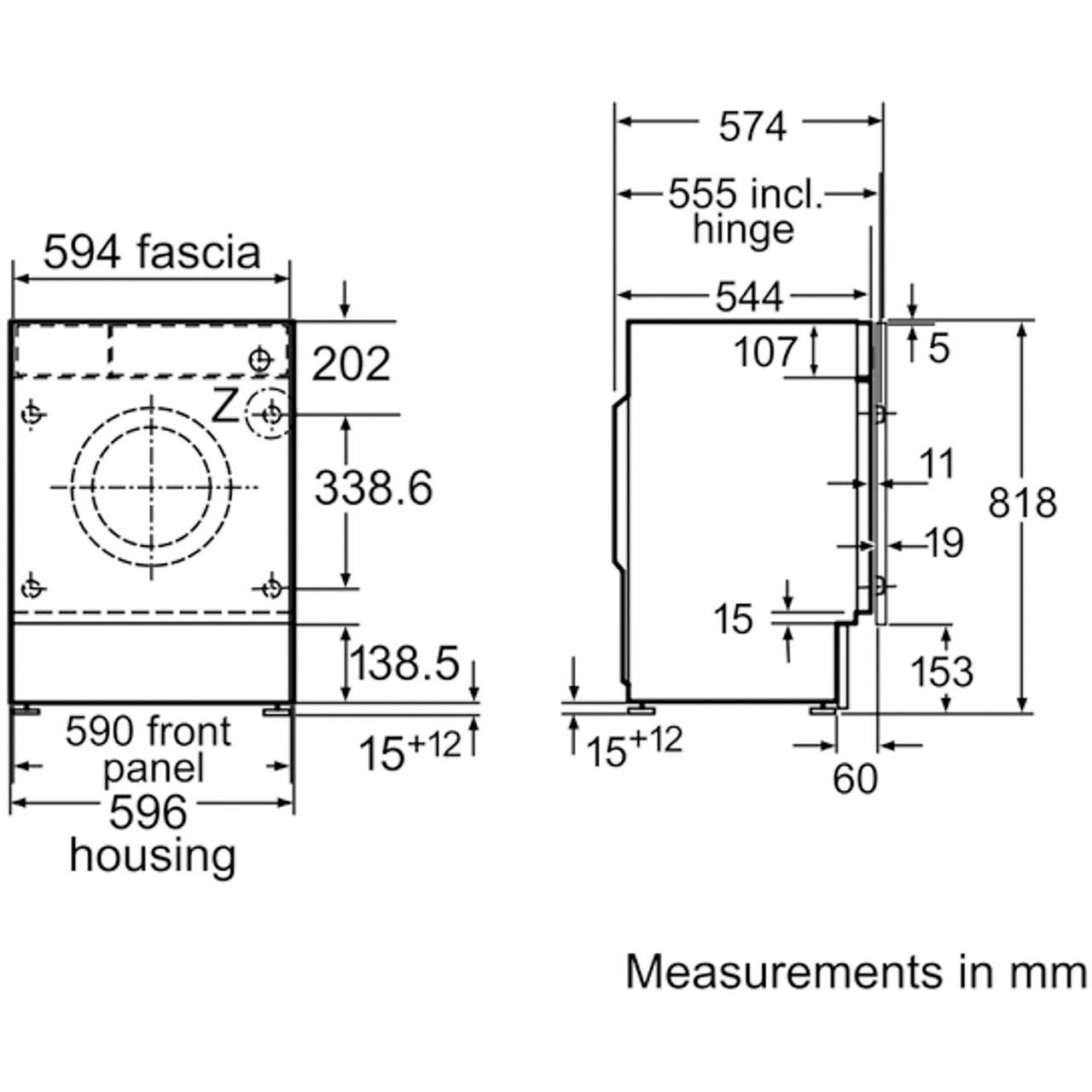 bosch 1400 washing machine manual