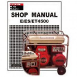 honda eu3000is shop manual download