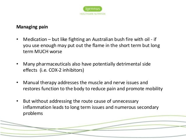 clinical patterns in manual therapy