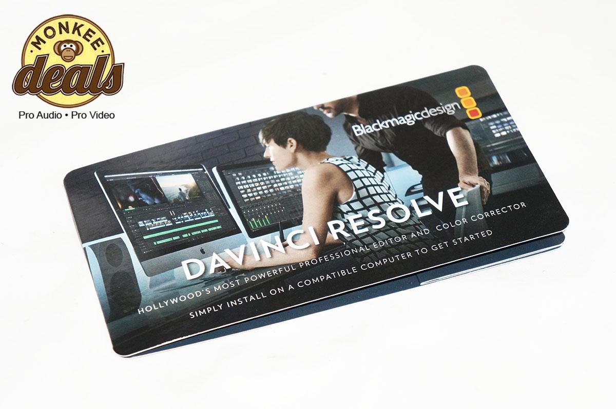davinci resolve micro panel manual