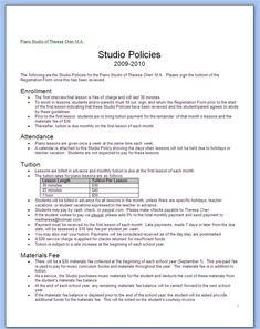 dental office policy and procedure manual template