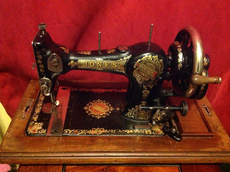 jones family cs sewing machine manual