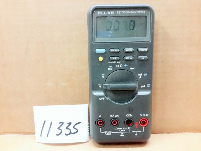 fluke 87 true rms multimeter manual