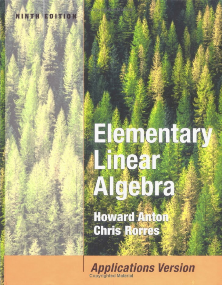 elementary linear algebra by howard anton 9th edition solution manual