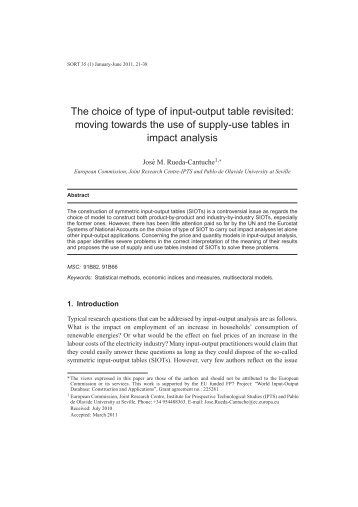 eurostat manual of supply use and input output tables