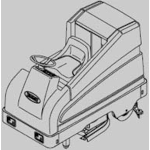 tennant 5700 scrubber parts manual