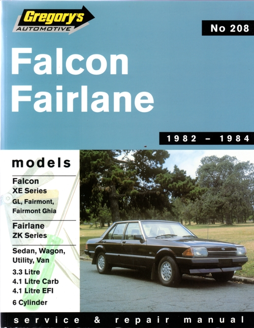 ford falcon au workshop manual