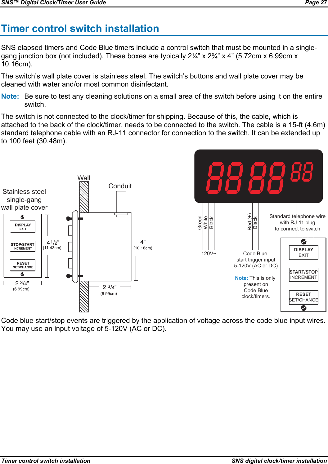 frontier digital timer manual pdf