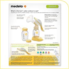 how to use manual breast pump medela