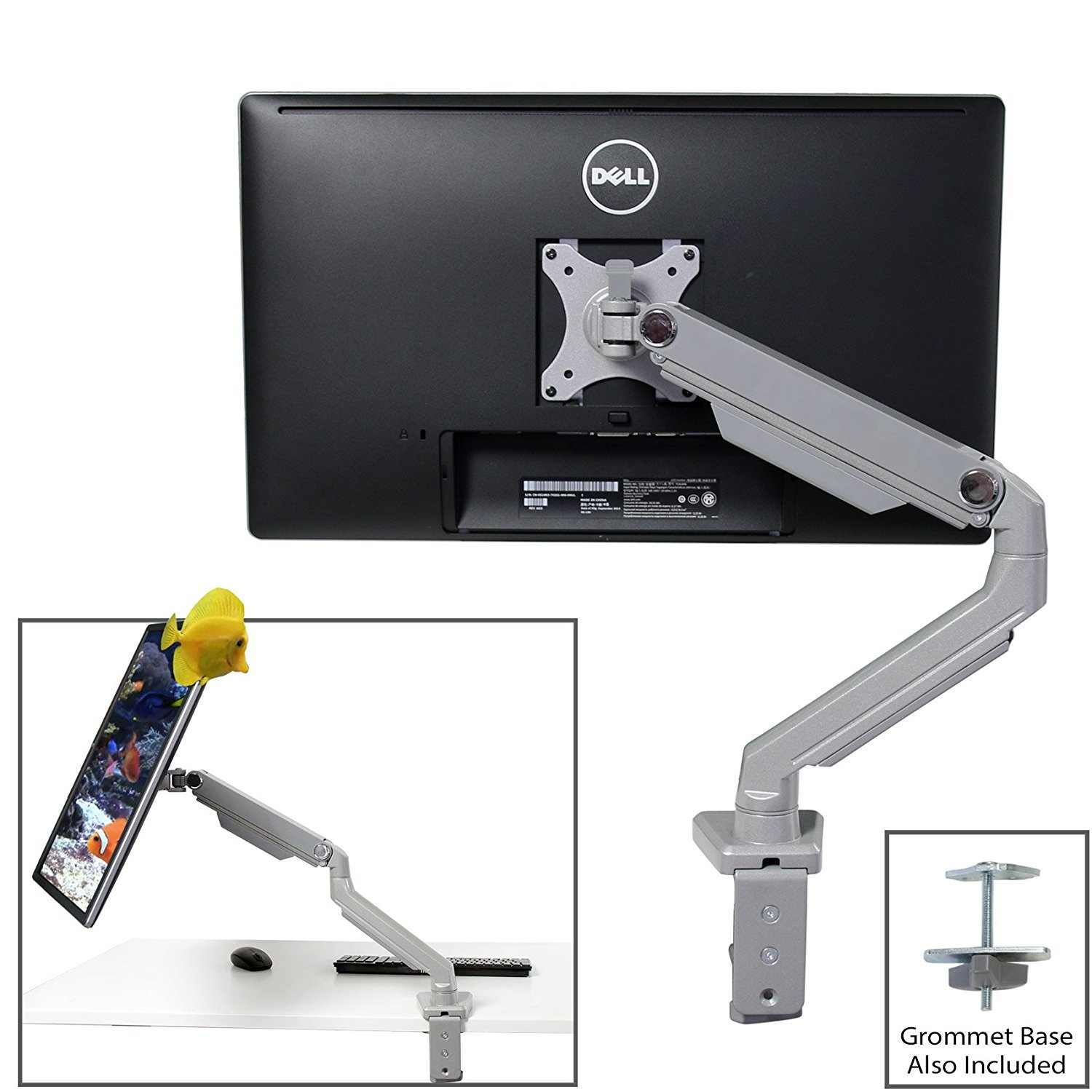hp adjustable dual display stand manual