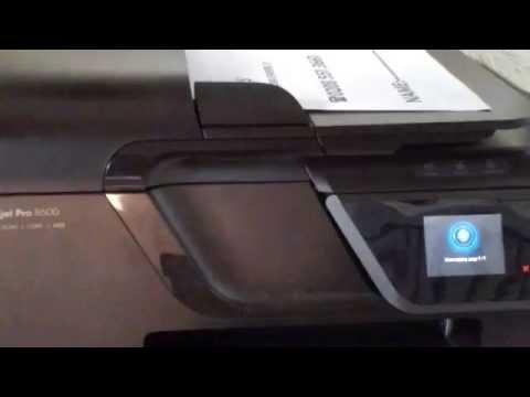 hp officejet pro 8600 plus manual feed