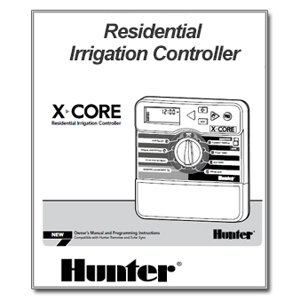 hunter x core instruction manual