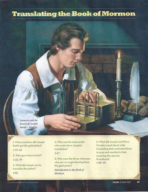 lds book of mormon seminary manual