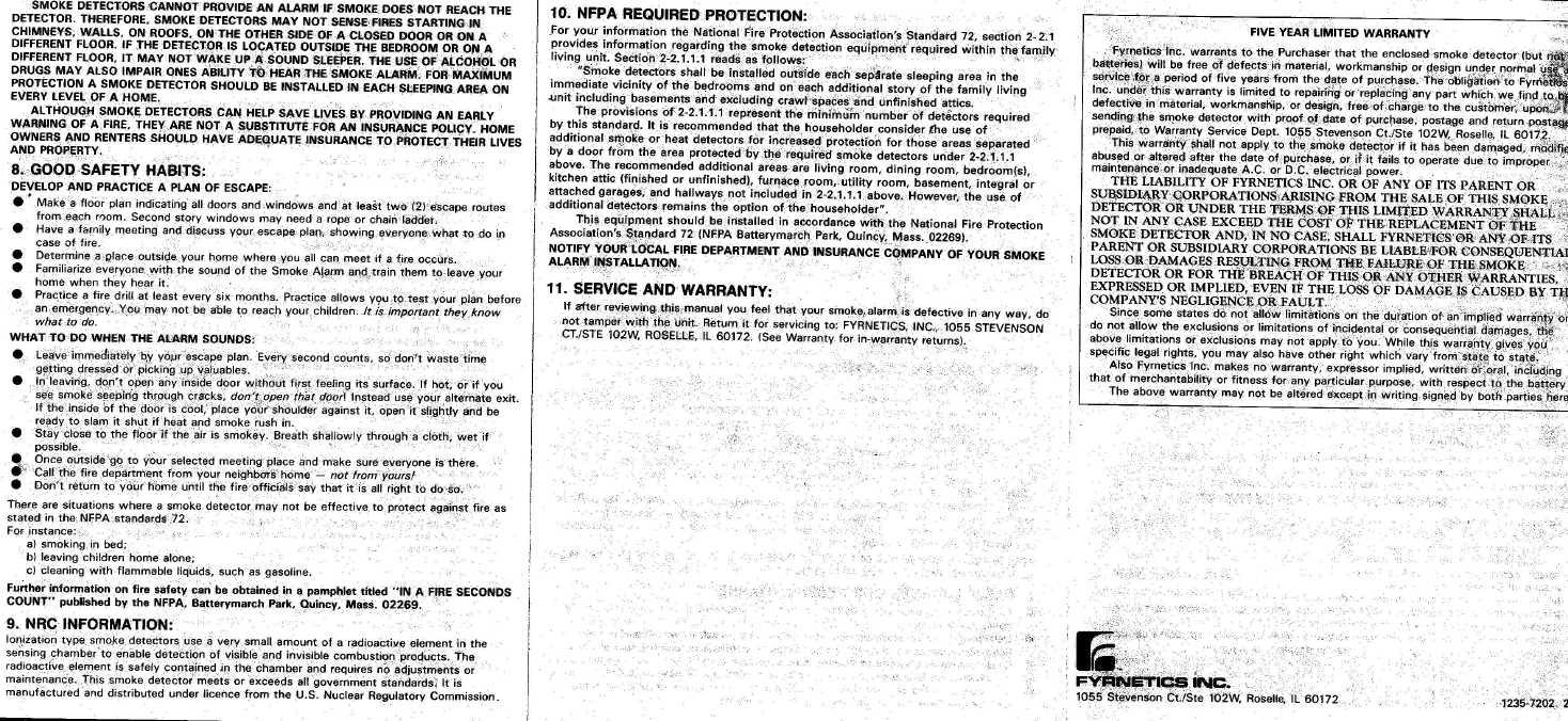 lifesaver carbon monoxide alarm manual