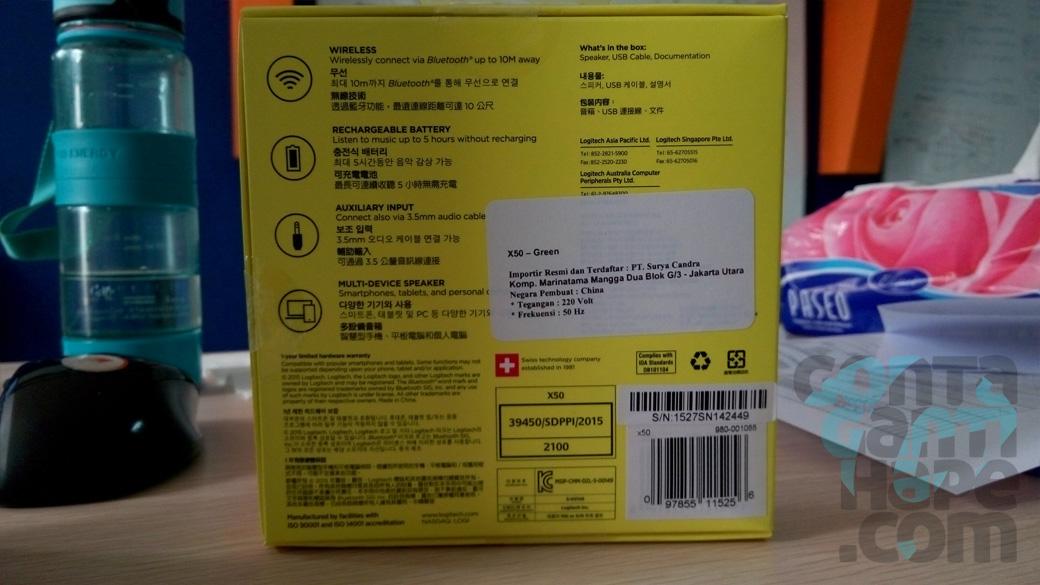 logitech x50 bluetooth speaker manual