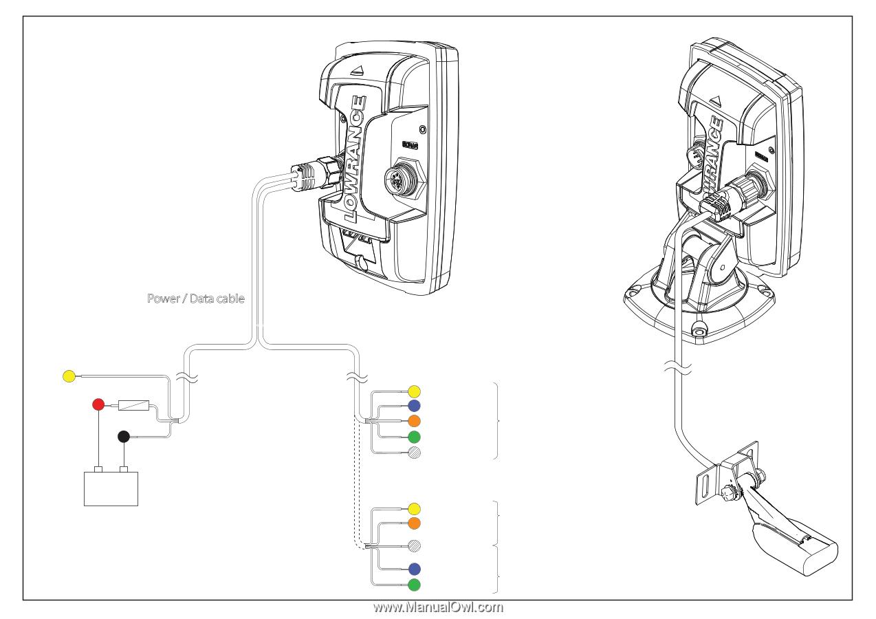 lowrance elite 5 hdi installation manual