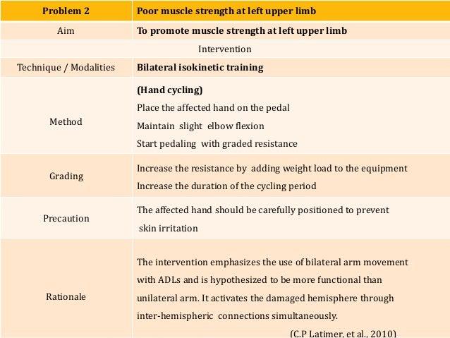 manual muscle testing upper limb