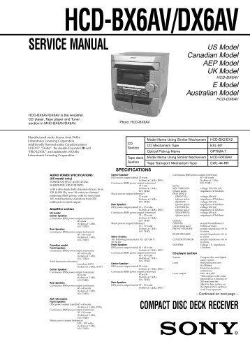 nakamichi compact receiver 1 manual