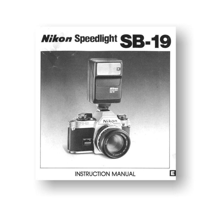 nikon speedlight sb 800 manual