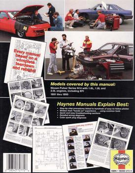 nissan pulsar n16 workshop manual