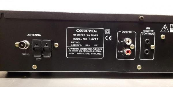 onkyo quartz synthesized tuner amplifier r1 manual