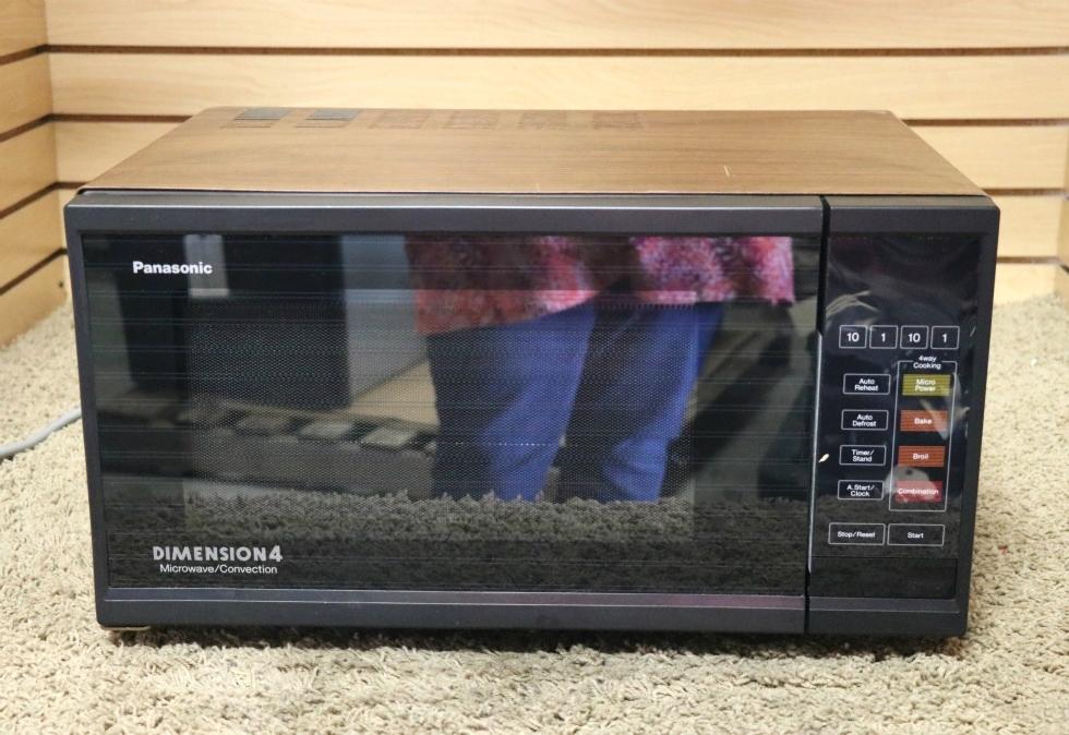 panasonic dimension 4 microwave convection manual