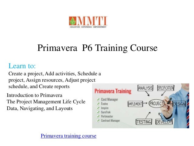 primavera p6 training manual pdf download