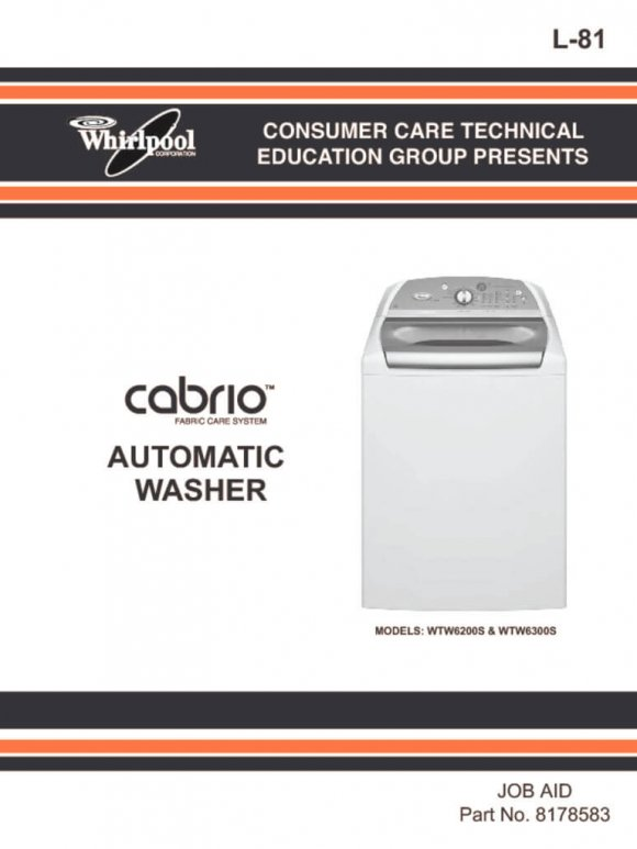 semi automatic washing machine repair manual pdf