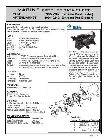 shurflo 4008 101 a65 manual