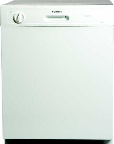 simpson eziset dishwasher 52b850 manual