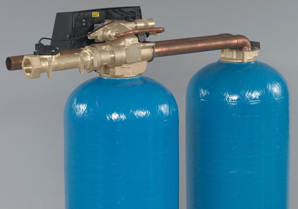 water softener control valve manual