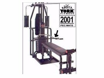 york 2001 pec mate multi gym manual